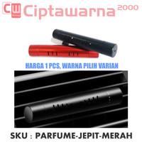 Parfum Slim Jepit Klip Stick Kisi Kisi AC Mobil Diffuser FREE 1 Refill
