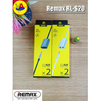 Remax Kabel AUX Jack Splitter RL-S20 3.5mm Extention 2in1 Audio Jack