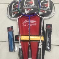 Raket Badminton Lining Import Full Carbon Termurah