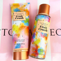 victoria secret fruit crush bodymist + body lotion