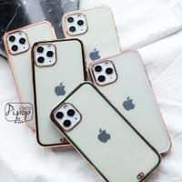 Golden Chromic Silicon Case - iPhone 6 7 8 plus X MAX XR 11 12 PRO MAX