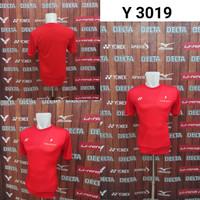 Baju Badminton Yonex Y 3019 Kaos Olahraga Bulutangkis Impor Murah