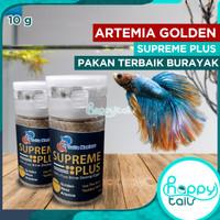 Artemia Golden Supreme Plus repack 10gr / 10 gr gram Asli hemat