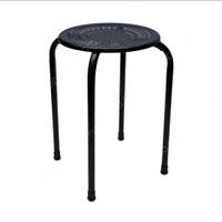 kursi besi minimalis modern / kursi cafe metal Soleil - Putih