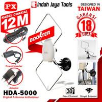 PX HDA-5000 ANTENA TV Digital Indoor Outdoor Antene PX HDA5000 5000