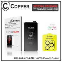 iPhone 11 Pro Max - Bundling Tempered Glass GLARE + TG Kamera