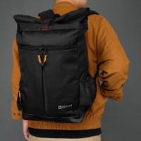 LUCIFER BLACK |MNM x McKinley| Ransel Tas Punggung Backpack Pria ORI