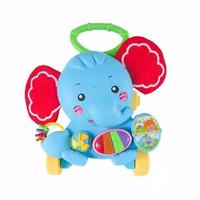 Mainan Bayi Dorong Baby Push Walker Fisher Price Musical Elephant