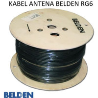 Kabel Coaxial Antena Dan CCTV Belden Antenna Cable RG6 Original