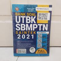 BUKU BANK SOAL UTBK SBMPTN SAINTEK 2021 EDISI LENGKAP YRAMA WIDYA