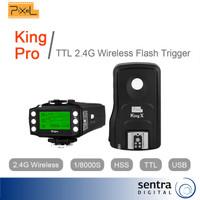 [PROMO] Pixel King Pro Set Wireless E-TTL Flash Trigger for Canon