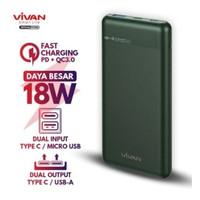 VIVAN Power Bank VPB-M10 10000mAh Powerbank 18W two-Way QuicK Charging