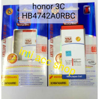 HUAWEI HONOR 3C HB4742A0RBC BATERAI DOUBLE POWER S1 2IC BEST QUALITY