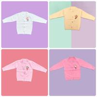 Baju Sweater Rajut Cardigan Atasan Anak Perempuan Import Real Picture - Peach, SIZE 4