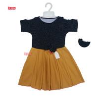 Dress Sabrina Pita 2-7 Tahun / Baju Pesta Anak Perempuan Murah Cewek