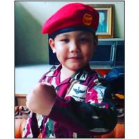 Baju Loreng Kopassus anak Kostum profesi Pasukan khusus Kopassus - S
