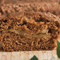 Medium VGF Apple Streusel Crumble Cake - VeganGlutenFree