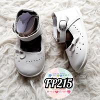 FP215 - import - sepatu anak bayi cewek balet shoes white pita - girl