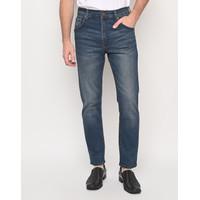 HILLBOSS Celana Jeans Panjang Fashion Pria Regular Fit Grey - 011032