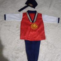 hanbok anak laki laki baju adat tradisional korea jan001