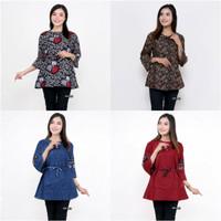 Blouse batik wanita / Atasan Batik Wanita / Baju Batik Kerja kantor