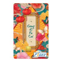 Kartu Flazz Limited Edition Imlek Lampion Warna Berlogo Baru