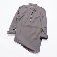Baju Koko Zipper Pria Modern / Kemeja Koko Cowok Premium Keren