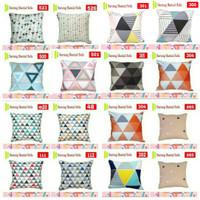 Sarung Bantal kursi/sofa 50 x 50