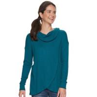 Baju Hamil Dan Menyusui A:Glow Tulip Wrap Maternity & Nursing Top - Green, XL