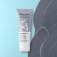 WARDAH Nature Daily Mineral + Clarifying Clay Mask 60ml