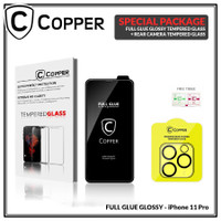 iPhone 11 Pro - Bundling Tempered Glass GLOSSY + TG Kamera
