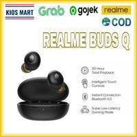 Realme Buds Q (20Hours Playback Bluetooth 5.0) Garansi Resmi - Putih, 1 Pcs