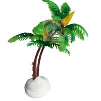 POHON KELAPA PLASTIK SINTETIS tanaman hiasan aquarium aquascape
