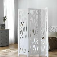 Pembatas Ruangan 3 Pintu Panel - Hitam