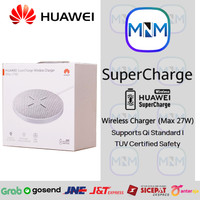 HUAWEI SuperCharge Wireless Charger (Max 27W) CP61 - Garansi Resmi