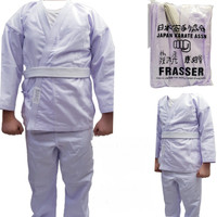 baju karate frasser MGA dewasa set - S