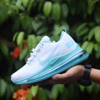 sepatu nike biru putih 720 air max wanita sneaker original