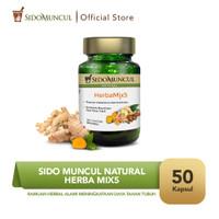 Sido Muncul Natural HerbaMix5 - Ramuan Herbal Alami Daya Tahan Tubuh