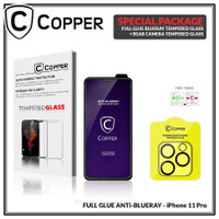 iPhone 11 Pro - Bundling Tempered Glass BLUERAY + TG Kamera