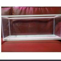 aquarium desk boy gex 60 cm warna putih