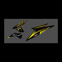 lisbody motor honda beat karbu 2009-2012 stiker variasi skotlet