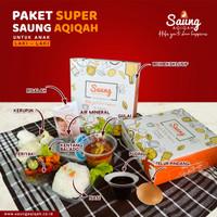 PAKET SUPER AQIQAH ANAK LAKI-LAKI 120 BOX