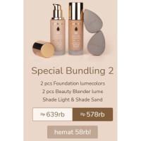 Foundation lumecolors special bundling 2 Lume Beauty blender
