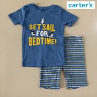 Baju Tidur Santai Setelan Anak Laki Carters Set Sail