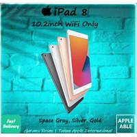 Apple iPad 8 / 8th Gen 2020 10.2 inch 32GB WiFi Only Gray Silver Gold