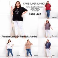 Blouse Jumbo SMB Spandek Motex Batwing Baju Atasan Wanita Big Size
