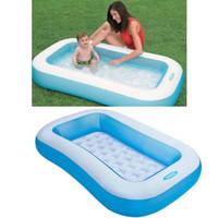 kolam renang anak jumbo kotak biru besar keluarga swimming pool