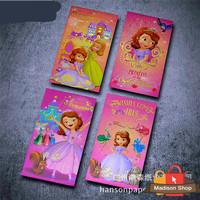 Angpao Panjang Disney Sofia Princess Ori Murah Souvenir Disneyland