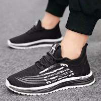 Sepatu Olahraga /Sepatu Lari Pria /Perlengkapan Sepatu Badminton - Hitam, 39