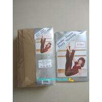 Aerobic-fitness panty stocking (stocking tebal)